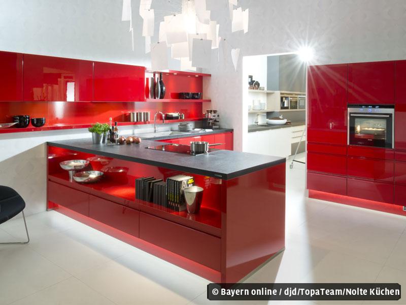 Glänzende Küchenideen